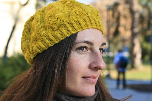 Meret in Malabrigo Worsted 'Frank Ochre' | by add_knitter