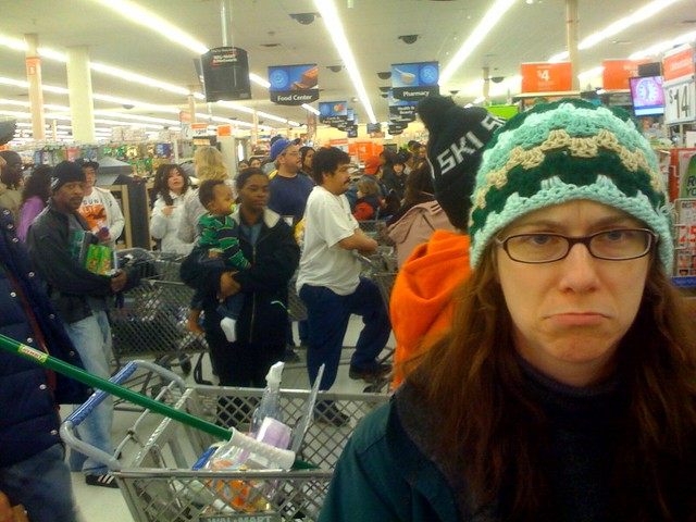 christmas 2009 christmas eve in walmart by vicky tgaw - Walmart Christmas Eve