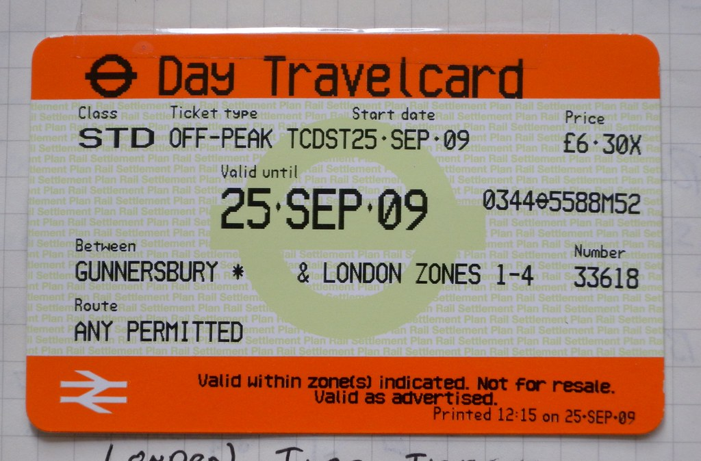 London Travel Card Where To Purchase