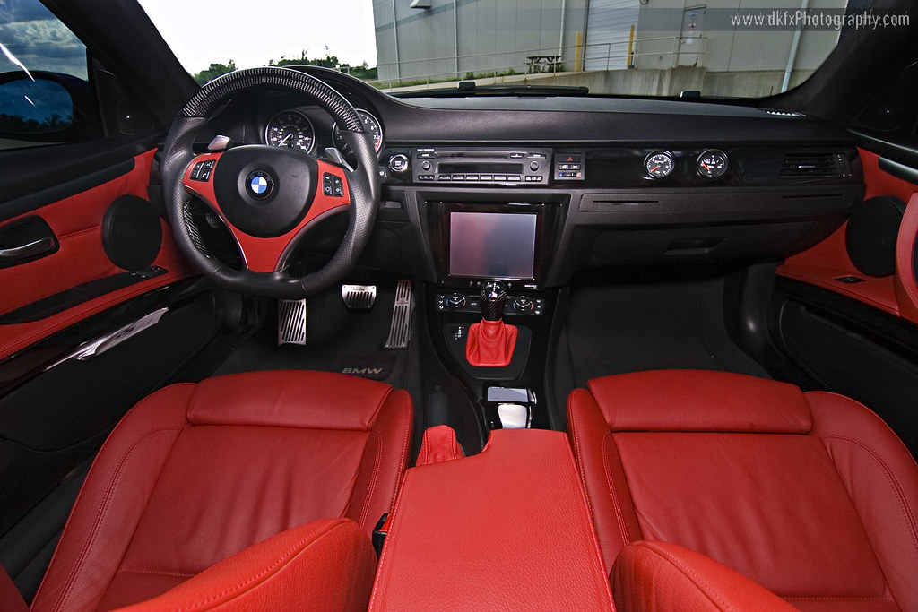 Red Interior On Bmw 335i Full Story At Www