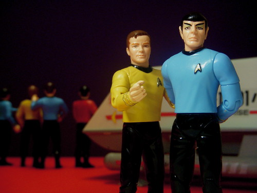 Kirk & Spock | by JD Hancock