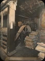 Interior of Oregon paper mill