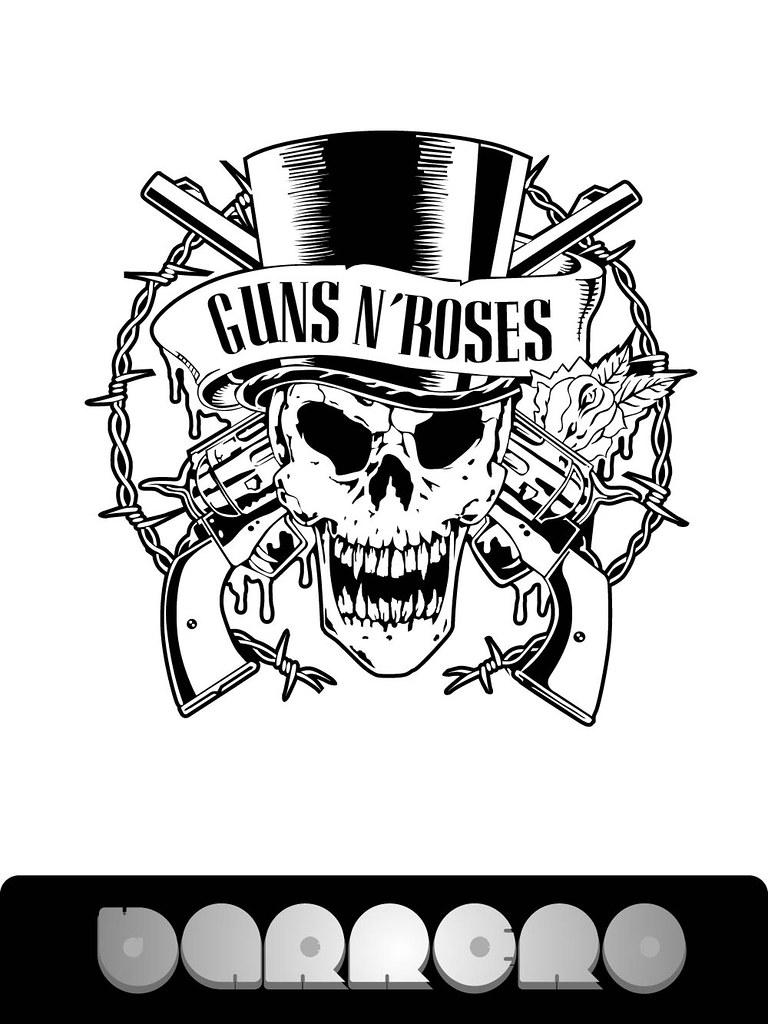 Guns N` Roses logo   David Barrero   Flickr