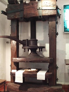 Printing press at villa d'Este | by avinashkunnath