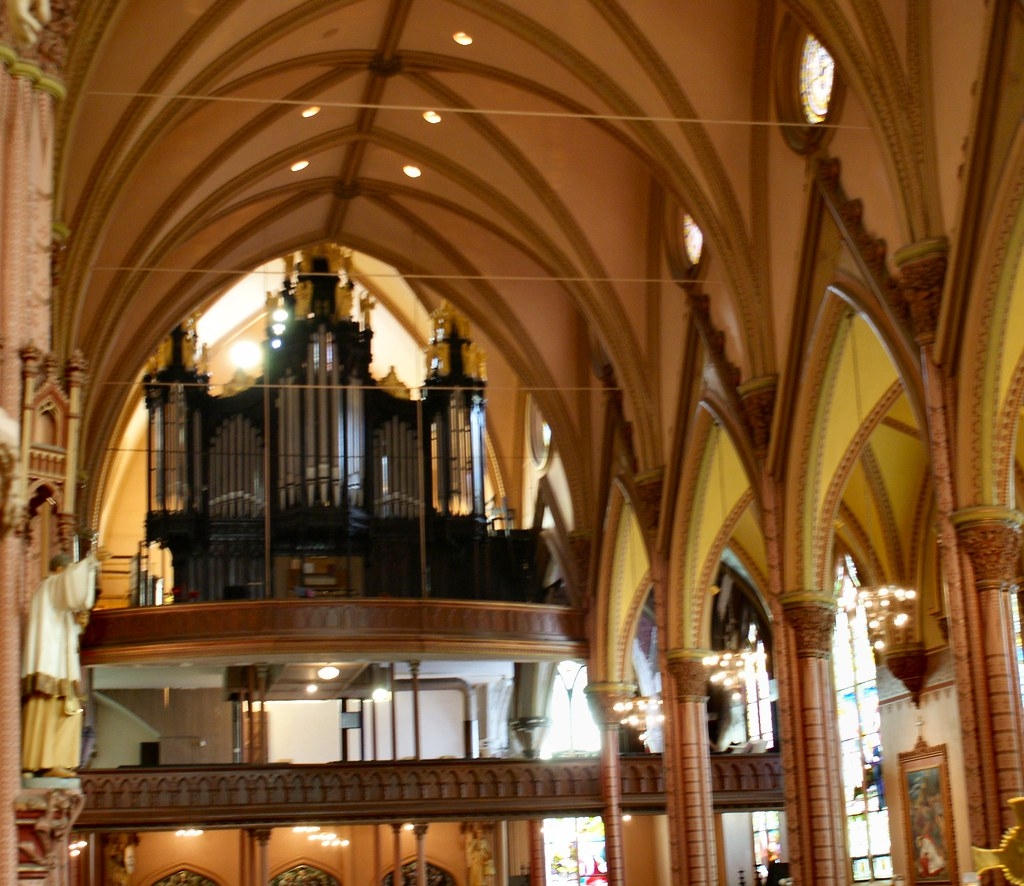Organ At Holy Family, Chicago, IL