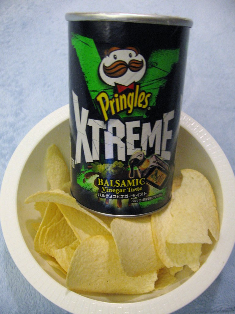 Chips with Balsamic Vinegar