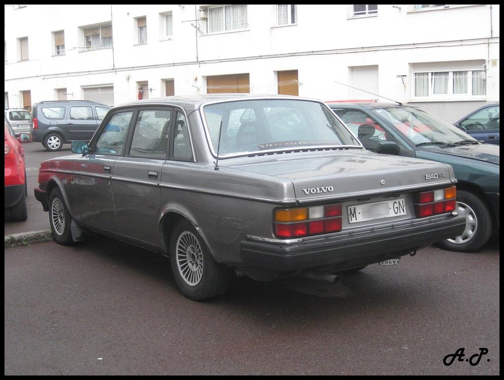 1985 Volvo 240 Gl 244 Very Nice Squarish Car Not