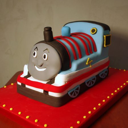 Thomas The Tank Engine Cake Nicole Mcgarry Flickr