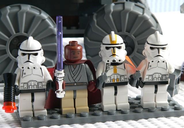 Star Wars Clone Wars 2005 Star Wars Lego 7261 Clone
