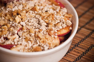 Raw Apple Crisp | by swellvegan