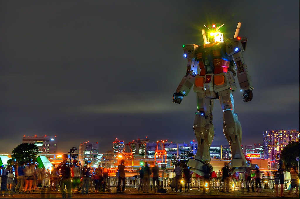 Image result for gundam odaiba