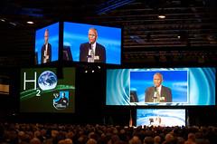 Biswas Speaks at Nobel Conference by Tom Roster