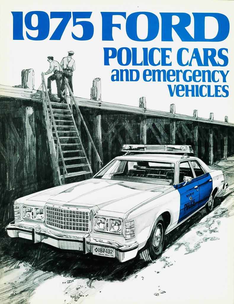 1975 ford police cars and emergency vehicles alden jewell flickr. Black Bedroom Furniture Sets. Home Design Ideas