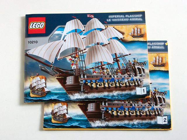 Lego 10210 Instruction Manuals Two Instruction Manuals 70 Flickr
