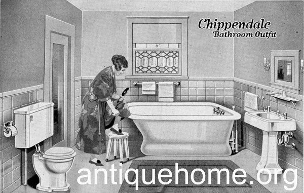Beau ... 1920u0027s Bathroom From Sears | By Daily Bungalow