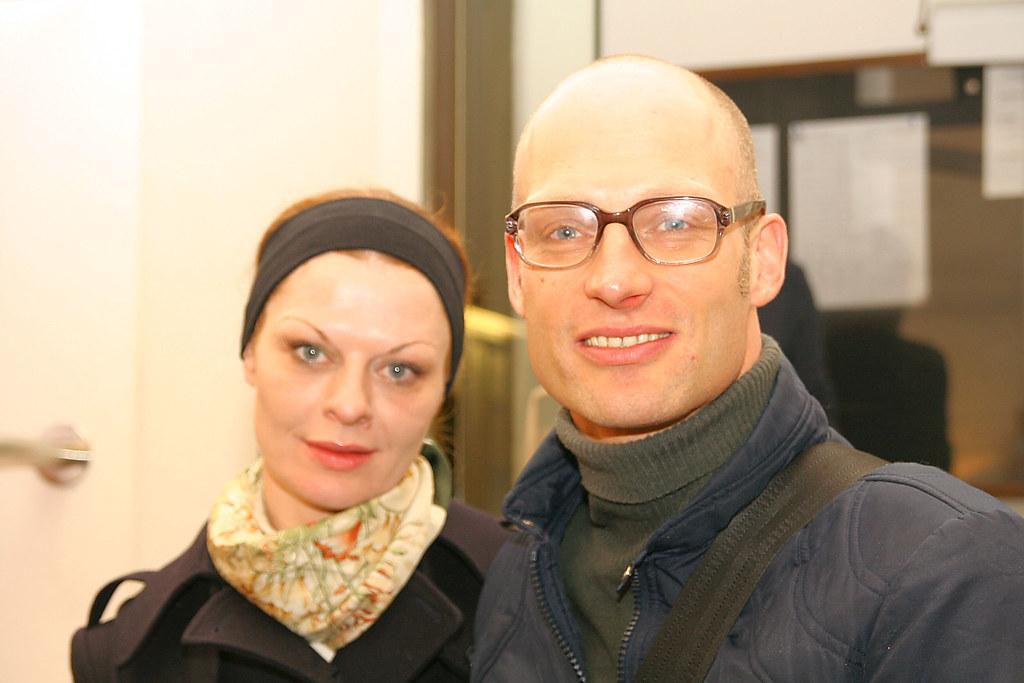 Christiane von Pölnitz, Joachim Meyerhoff @ Burgtheater Vi ... White