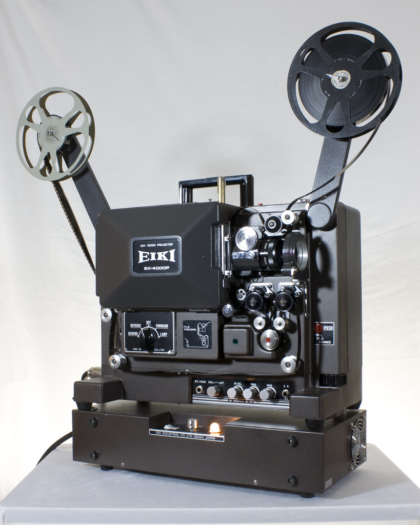 ... Eiki EX-4000P 16mm sound movie projector with xenon-arc lamp | by Carbon