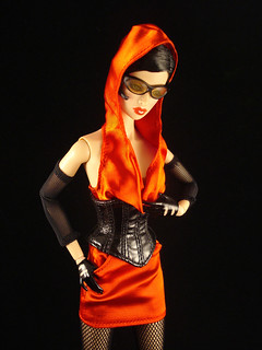Red Hooded Woman | by Doll Fashionista