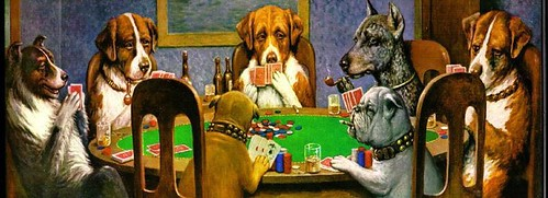 Dogs playing cards | by mojoskillet