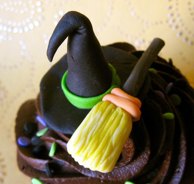 Halloween Cupcake Toppers Fondant Fondant Cupcake Topper