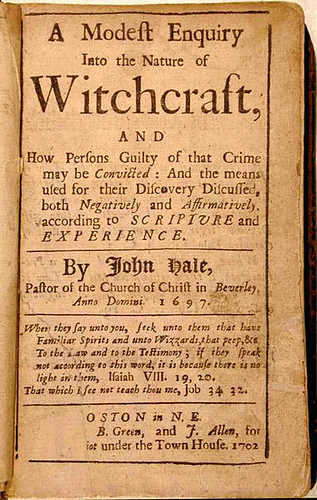 Essays on the salem witch trials