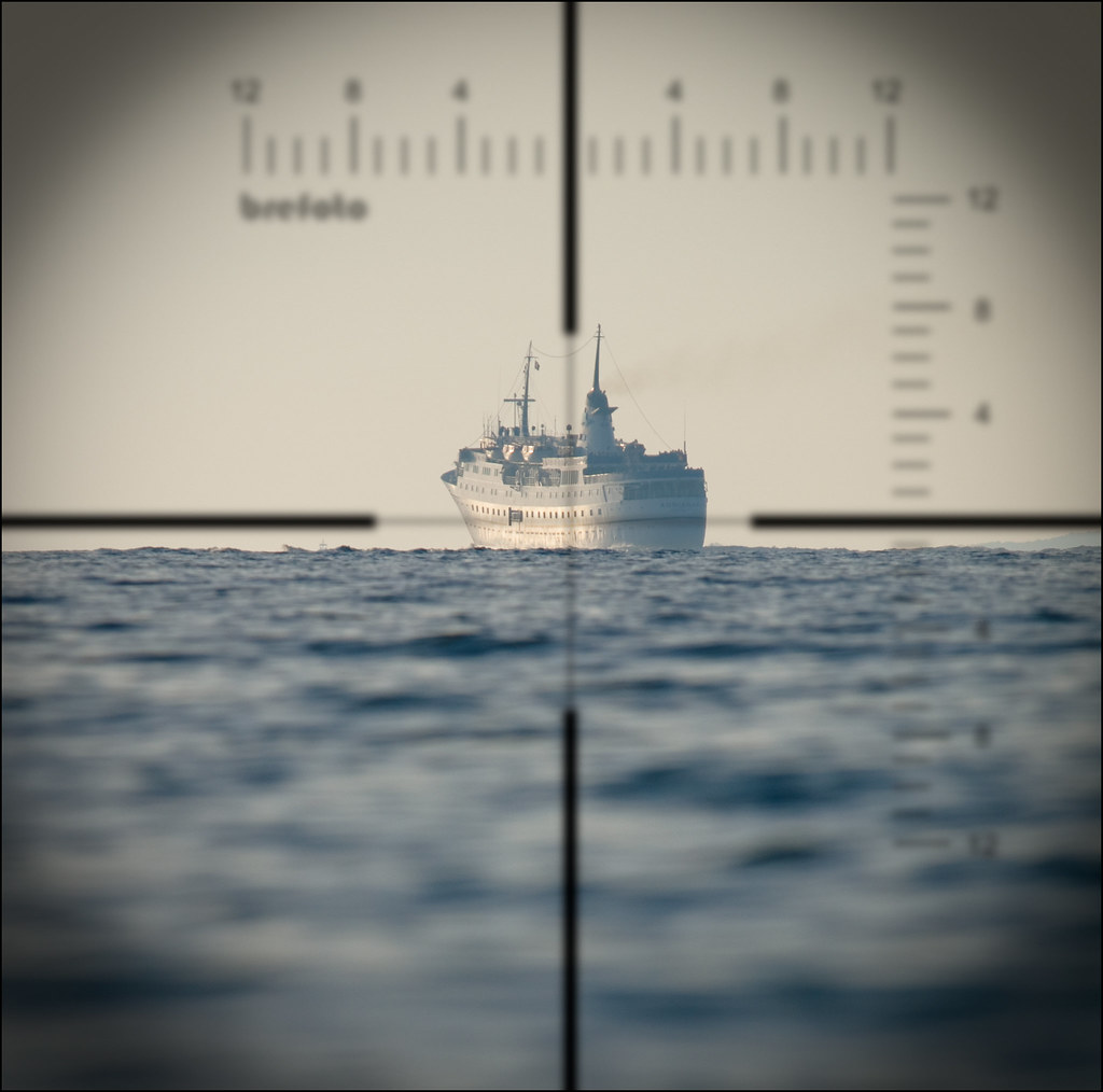 Up Periscope! | I was standing chest deep in the sea when ...