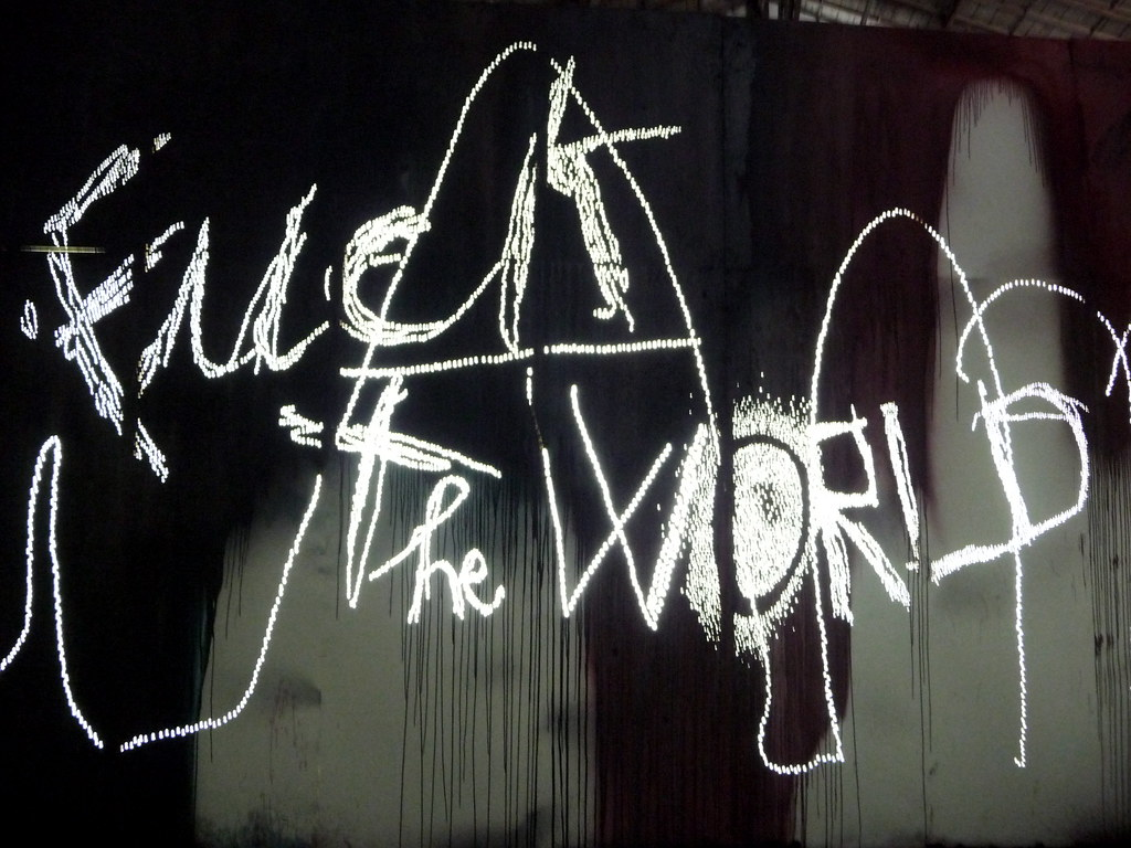 Fuck The World Wallpaper