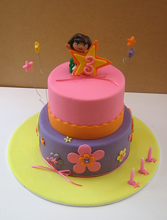 Dora cake for Ella | by Sweet Disposition Cakes