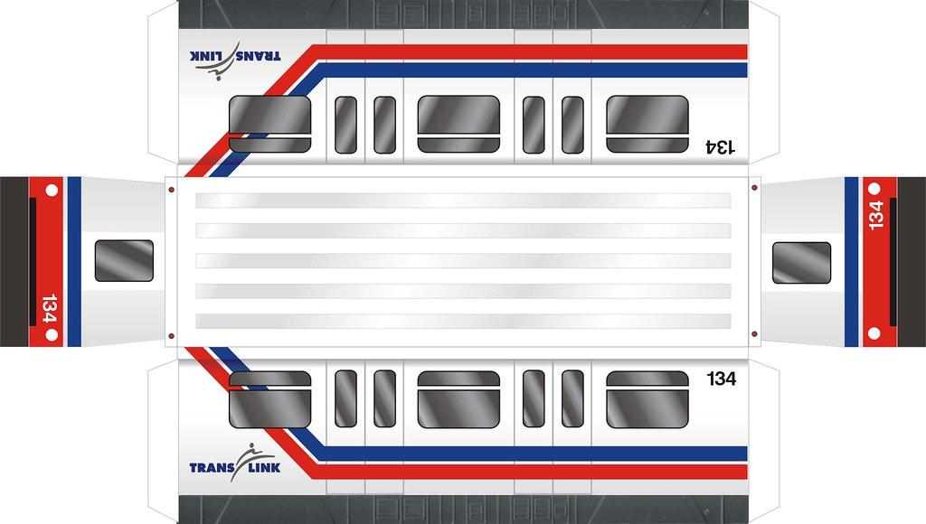 Toy Train Tracks : Super express rebodied skytrain mk i toy car