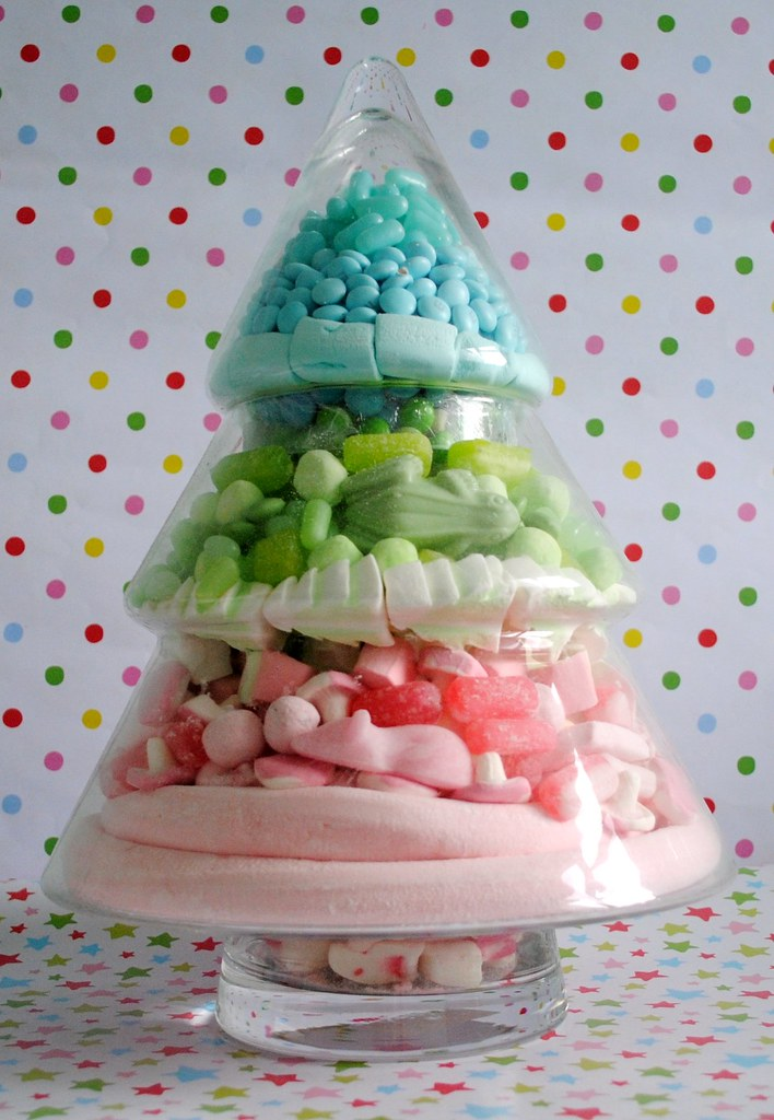 Candy Christmas tree jar | Blogged at Torie Jayne.com Blog|F… | Flickr