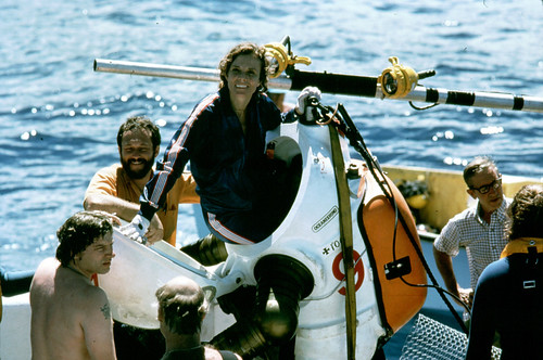 Sylvia Earle gets out of the JIM Suit | by kqedquest