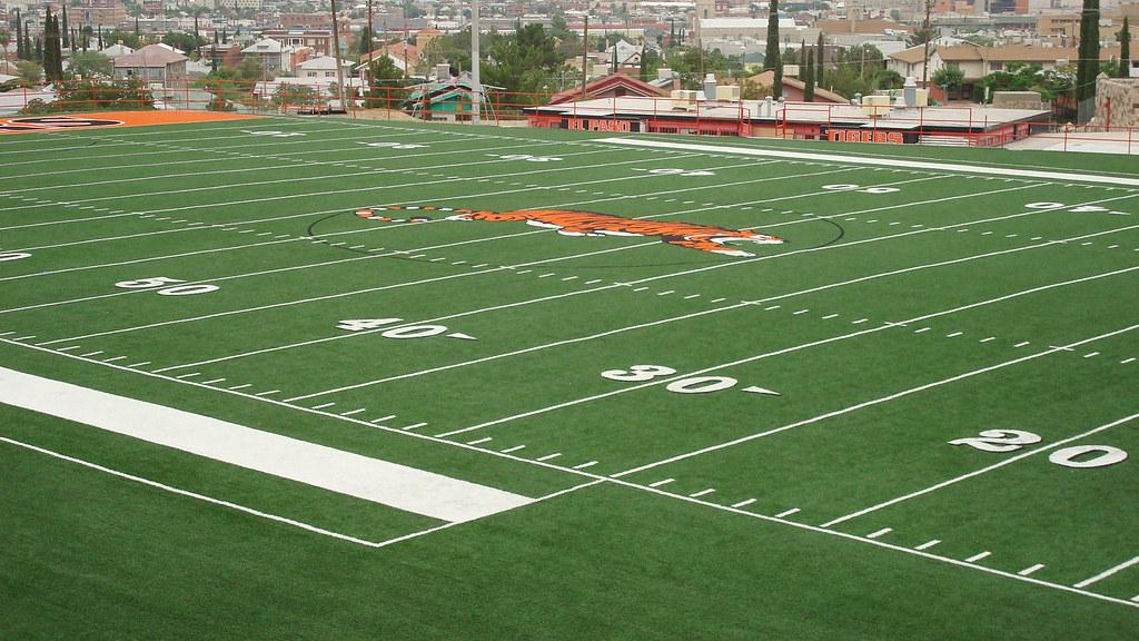 El Paso High School Turf Astroturf Gameday Grass Mt Locat Flickr