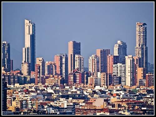 Skyline en Benidorm | by edomingo