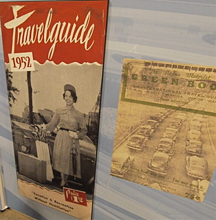 "Smithsonian ""Journey Stories"" exhibit -- segregation-era guidebooks to facilities for African American tourists 