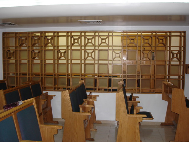 view of the partition malha mall synagogue flickr
