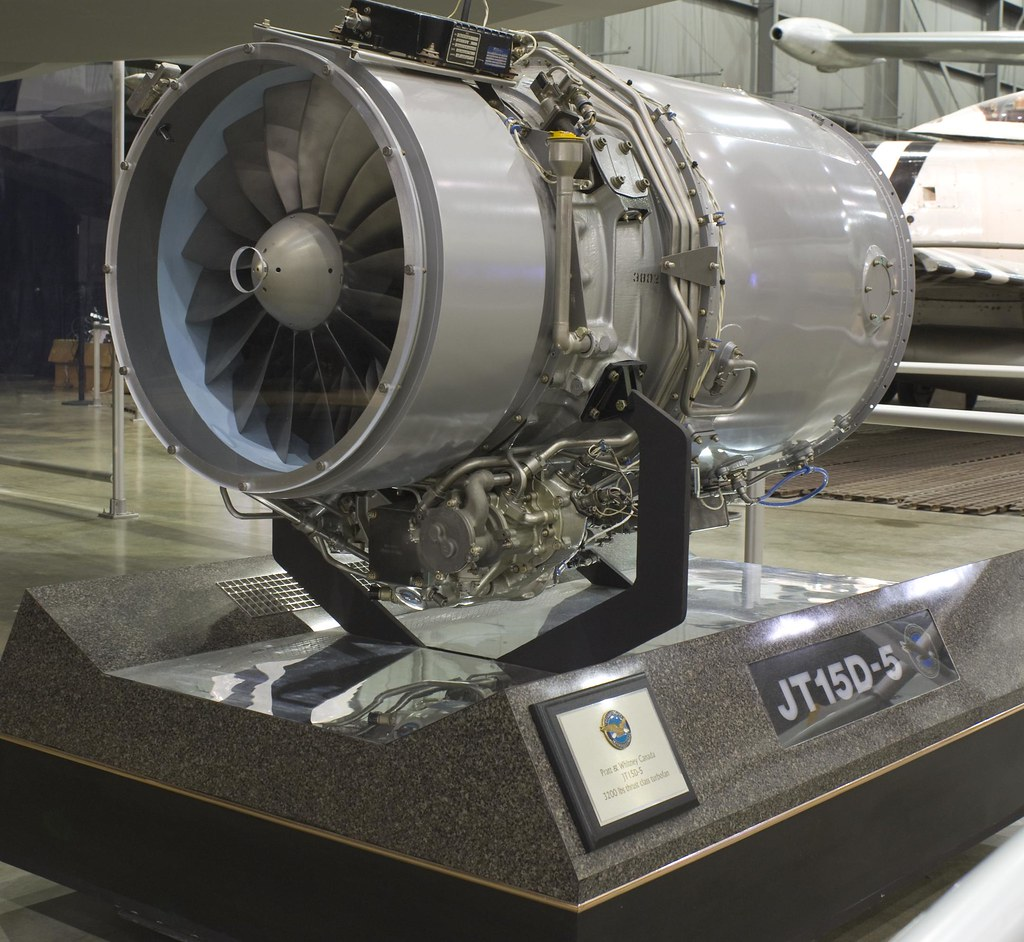 Pratt & Whitney JT15D-5 engine...