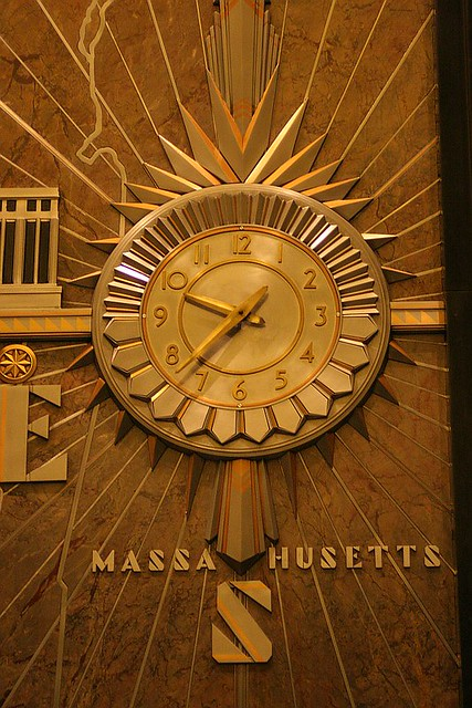 Lobby Clock Empire State Building The Fabulous Brass