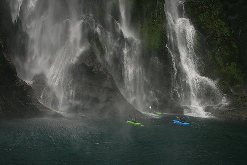 damn, the rivers vertical! | by Fiordland man