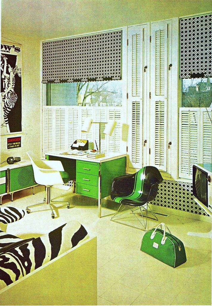 60 39 s room from the practical encyclopedia of good for 60s apartment design