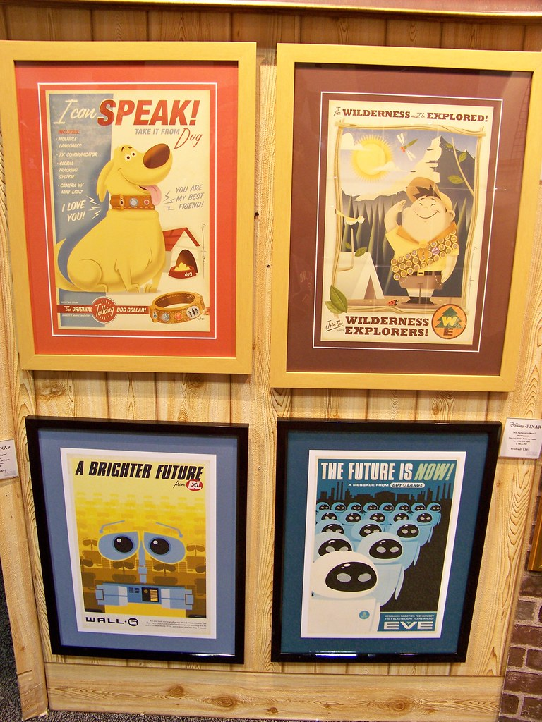 Pixar Art at the D23 Expo Dream Store | Loren Javier | Flickr