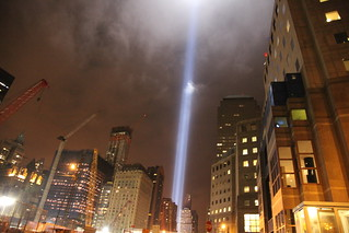 9/11 Tribute in Light | by jbchan
