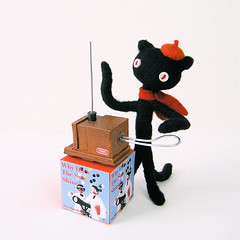 Theremin Cat for liner notes | by hine
