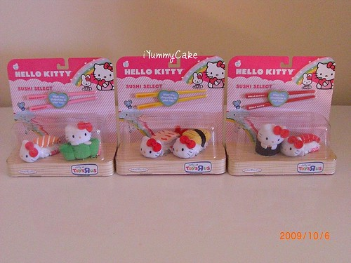 Toys Are Us Hello Kitty : Hello kitty sushi plushies from toys r us they even come