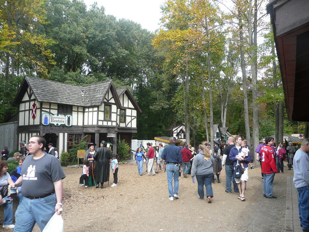 Maryland Renaissance Festival  Picture Taken At The