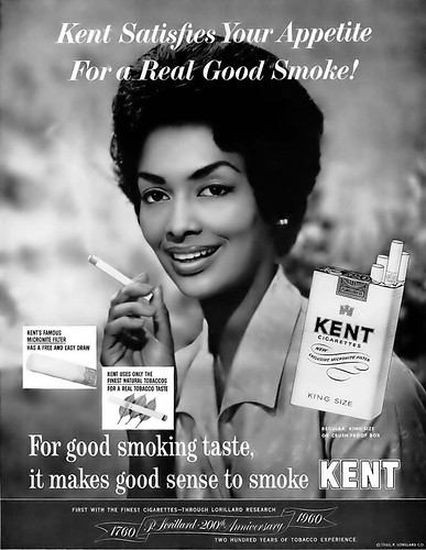 Kent cigarettes vintage advertisement featuring model hele for Annonce modele photo