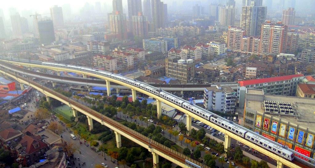 Shanghai Metro Line 4 Near Baoshan Rd Station J S Flickr