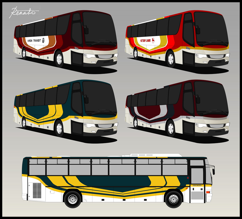Bus Livery Design | Another livery design for buses in the