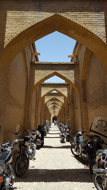 Motorcycle alley, Shiraz. From  Revolutionary Ride: On the Road in Search of the Real Iran