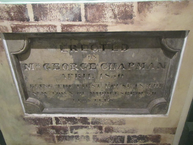 George Champman 1830, First House in Middlesbrough