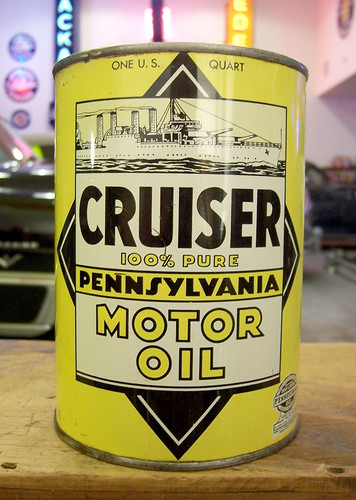 Cruiser colby thueson flickr for Motor oil by the barrel